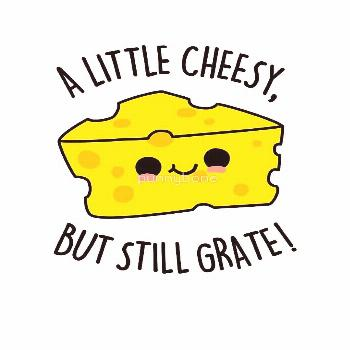 A Little Cheesy Food Pun by punnybone