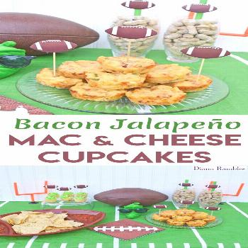 Bacon Jalapeno Macaroni and Cheese Cups Football Party Recipe Bacon Jalapeno Macaroni and Cheese Cu