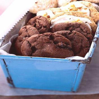 Chewy Chocolate-Cherry Cookies |