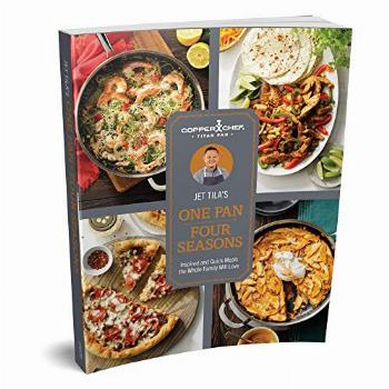 Copper Chef Titan Pan Cookbook by Chef Jet Tila, One Pan