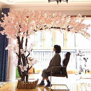 SHUI Artificial Cherry Blossom Trees Champagne Cherry