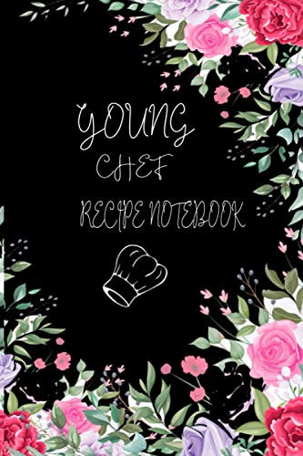 Young Chef Recipe Notebook Kids and adults Cookbook Gift,